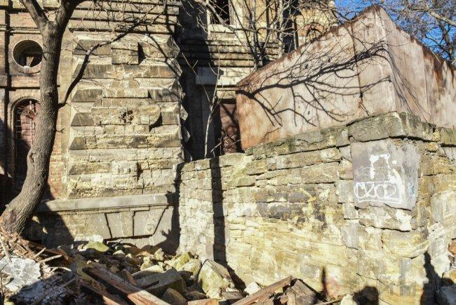 Реконструкция одесского «Масонского дома» в самом разгаре