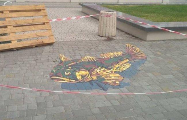 В центре Одессы процветает стрит-арт