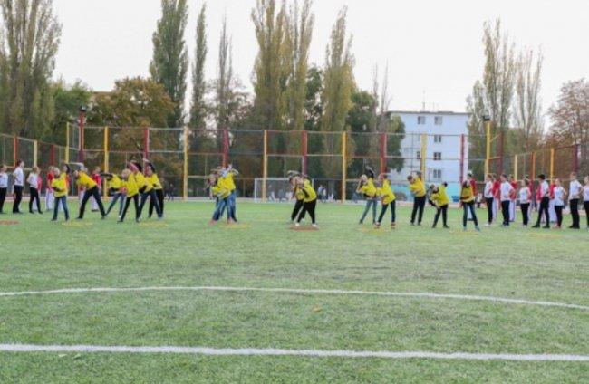 Стадион вместо пустыря в Одессе