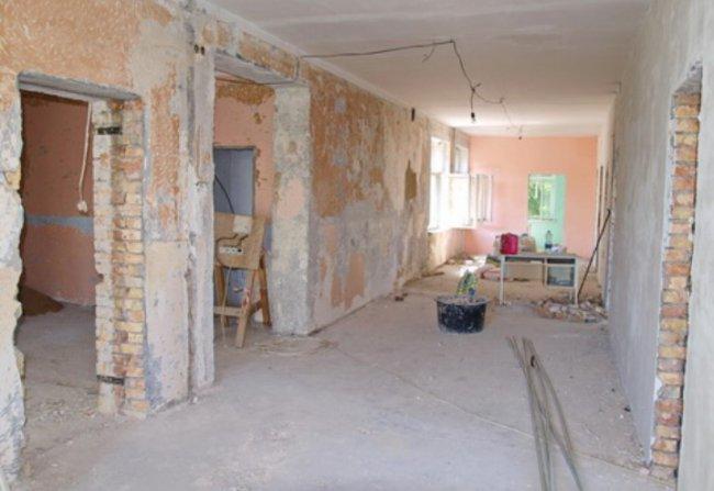 Капитальный ремонт в Одесском Центре первичной медико-санитарной помощи 2
