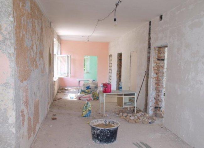 Капитальный ремонт в Одесском Центре первичной медико-санитарной помощи