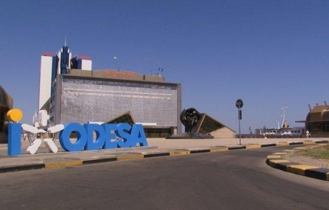 Уникальный кинетический фасад в Одессе