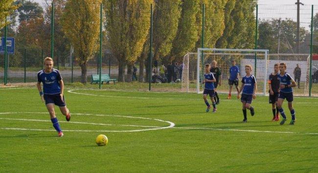 В Одесской области открыли современное поле для мини-футбола 2