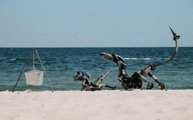 Необычная выставка открылась прямо на одесском пляже